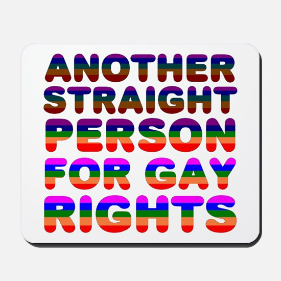 Pro Gay Rights Mousepad