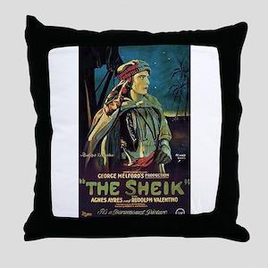 The Sheik (1) Throw Pillow