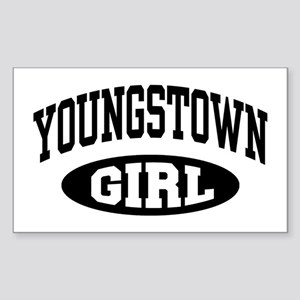 Youngstown Girl Sticker (Rectangle)