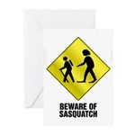 Sasquatch Greeting Cards (Pk of 10)