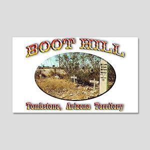 Boot Hill 22x14 Wall Peel