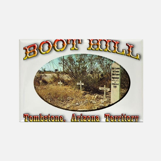 Boot Hill Rectangle Magnet