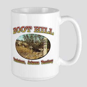 Boot Hill Large Mug