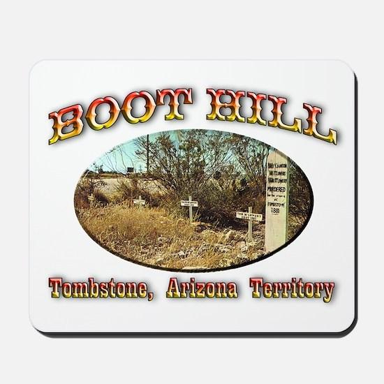 Boot Hill Mousepad