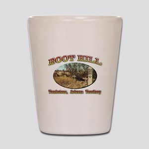 Boot Hill Shot Glass