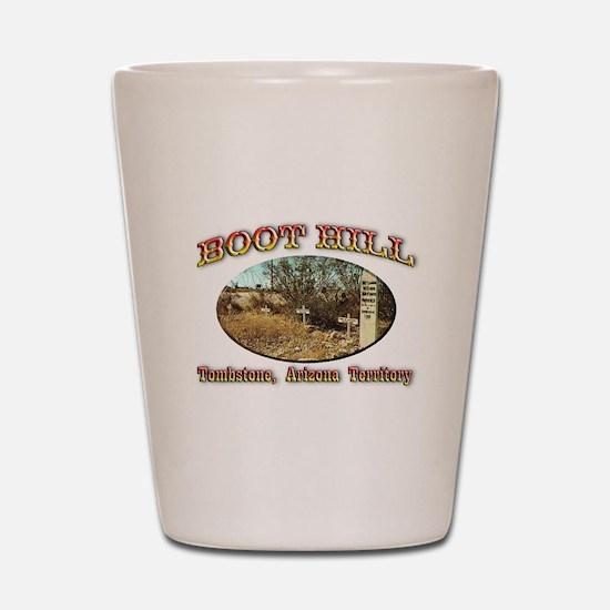 Boot Hill Shot Glass