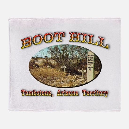 Boot Hill Throw Blanket