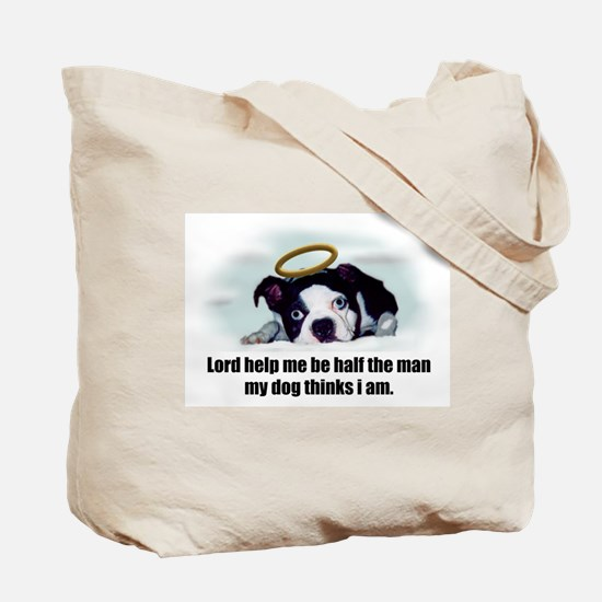 SWEET BOSTON TERRIER Tote Bag