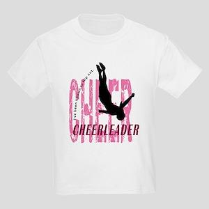 Flip Out Cheerleader Kids Light T-Shirt