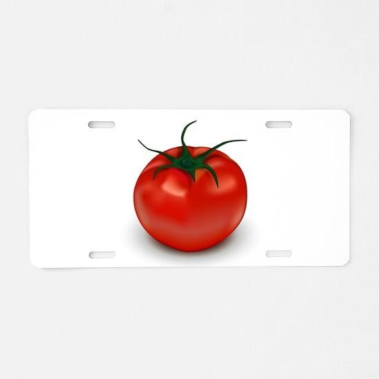 Red Tomato ! Aluminum License Plate