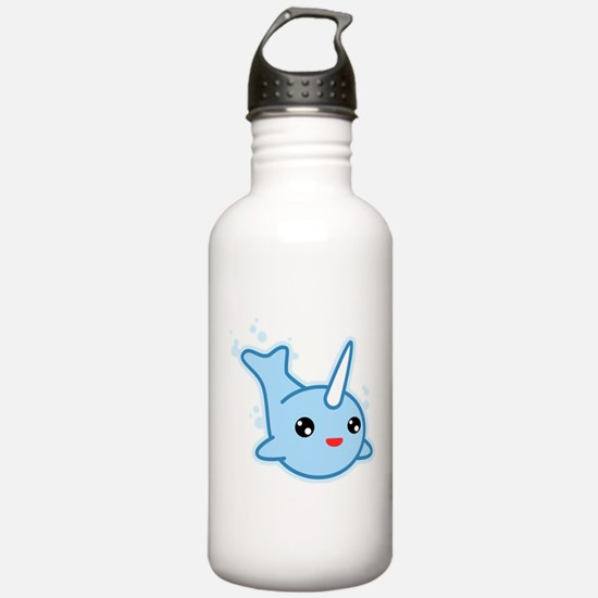 Narwhal Kawaii Water Bottle
