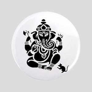 """Ganesha 3.5"""" Button"""