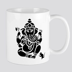 Ganesha White Mug Mugs