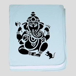 Ganesha Baby Blanket