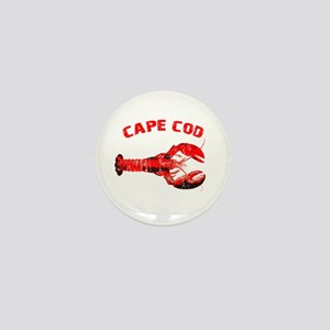 Cape Cod Lobster Mini Button