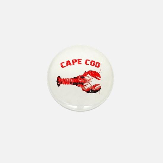 Cape Cod Lobster Mini Button