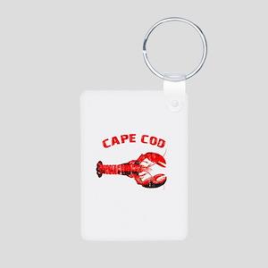 Cape Cod Lobster Aluminum Photo Keychain