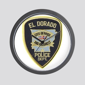 El Dorado Police Department Wall Clock