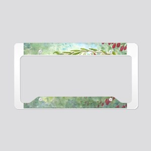 Wolfberry License Plate Holder