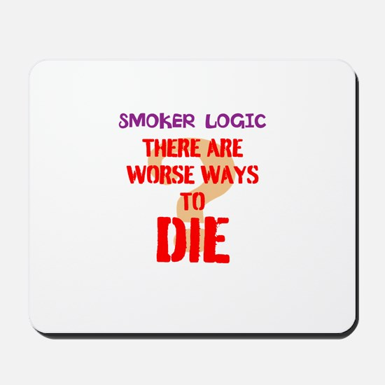 smoker logic Mousepad
