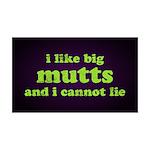 I Like Big Mutts 35x21 Wall Decal