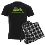 I Like Big Mutts Men's Dark Pajamas