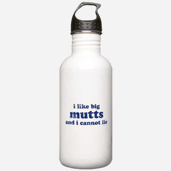 I Like Big Mutts Water Bottle