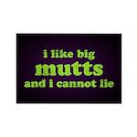 I Like Big Mutts Rectangle Magnet (10 pack)