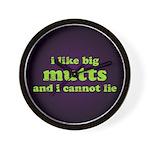 I Like Big Mutts Wall Clock