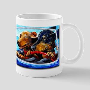 Two Dogs to Go Mug