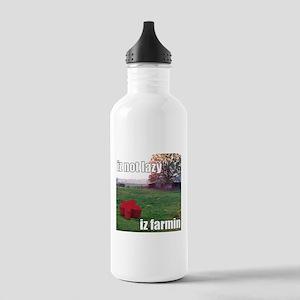 lolmeeple Farming Stainless Water Bottle 1.0L
