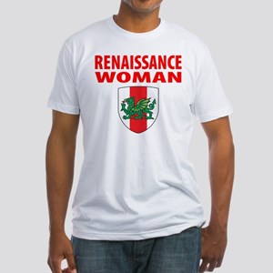 "Midrealm ""Renaissance Woman"" Fitted T-Shirt"