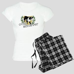 Border Collie Overachiever Women's Light Pajamas