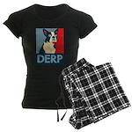 Derp Derp Derp Women's Dark Pajamas
