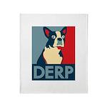 Derp Derp Derp Throw Blanket