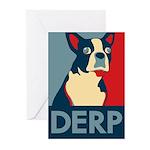 Derp Derp Derp Greeting Cards (Pk of 20)