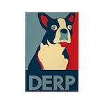 Derp Derp Derp Rectangle Magnet (100 pack)