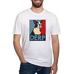 Derp Derp Derp Fitted T-Shirt