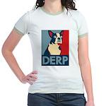 Derp Derp Derp Jr. Ringer T-Shirt