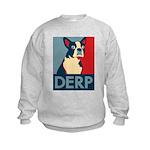 Derp Derp Derp Kids Sweatshirt