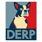 Derp Derp Derp Small Poster