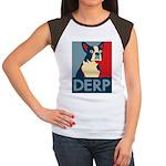 Derp Derp Derp Women's Cap Sleeve T-Shirt