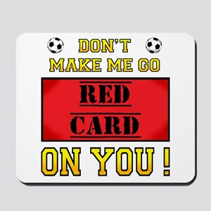 Red Card Mousepad
