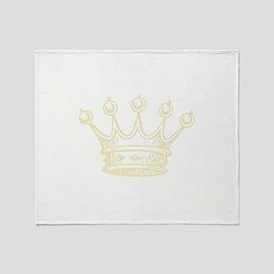 Crown Throw Blanket