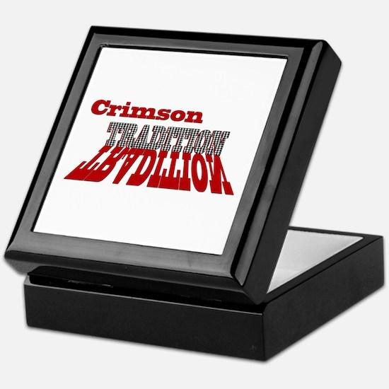 Crimson Tradition Keepsake Box