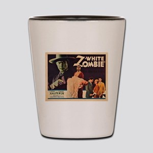 White Zombie Shot Glass