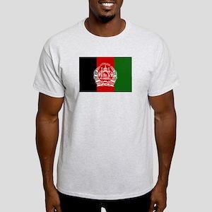 Afghanistan Flag Ash Grey T-Shirt