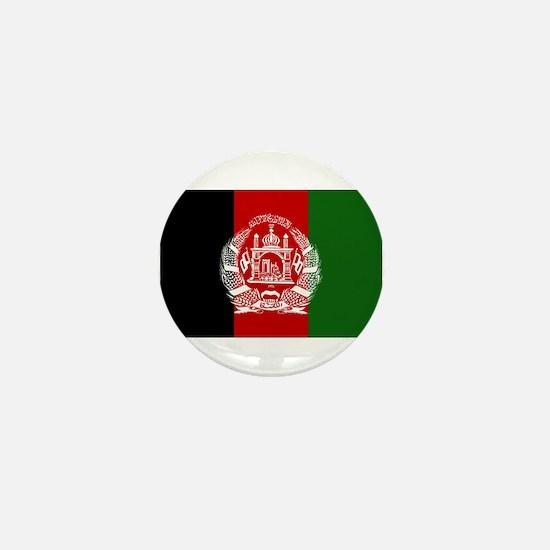 Afghanistan Flag Mini Button