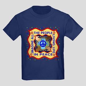 Hands of Peace Kids Dark T-Shirt