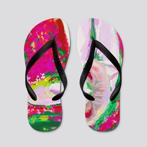 holiday pause Flip Flops